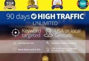 bring real visitors, targeted web traffic