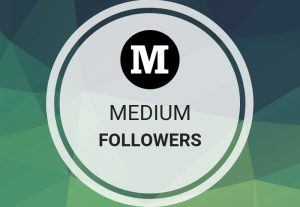 Get Offer 100 Medium Followers for medium profile for $5