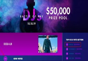 100 Music DJ Contest Vote with Different IP