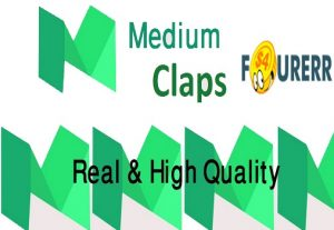 Give You Real 1000 Medium Claps Worldwide