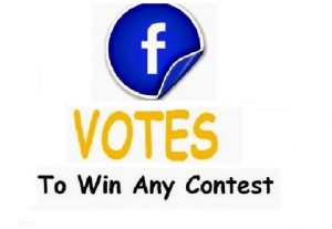I can provide 125 Real USA Facebook votes Or Any Contest Voting Website