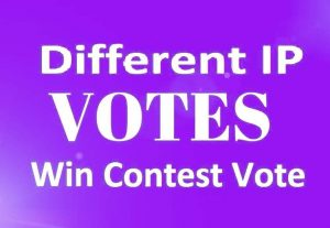 Supply You 150 Different Ip poll contest votes