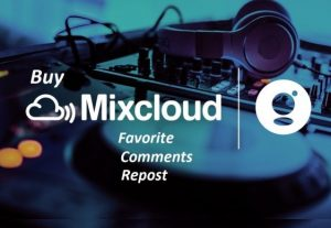 give you 70 USA Mixcloud favorite+ repost+comment for you