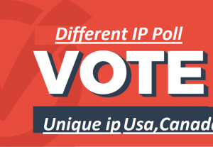 Get 1000 Different Ip poll contest votes