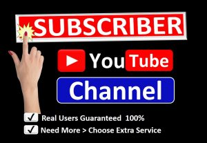 Get Organic USA 500+ YouTube Subscriber in your Channel, Real Active Users, Refill Guaranteed.