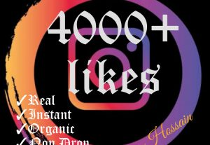 Promote your Instagram post with 4000+ likes at instant with HQ,Real, Non Drop and 100% Organic promotions.