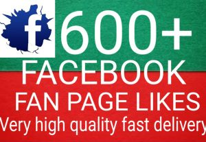 I will Promote 600+ Facebook Fan Page Likes high quality and fast delivery