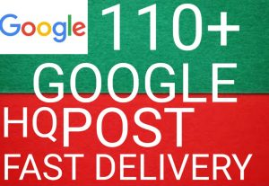 I will get you 110+ Google post high quality and fast delivery