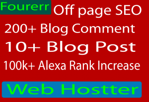 Promote your website rank with off page seo