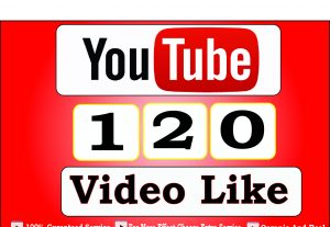 Get 120+ Youtube Video Like,Guranteed And life time guranteed service