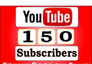 Get 150+ USA YouTube-Subscriber in your Channel, Non Drop, Real Active Users Guaranteed