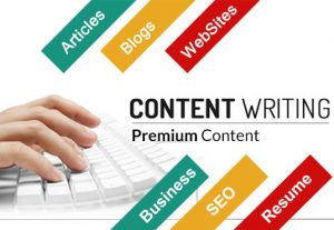 Write content for blog or affiliate product