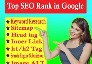 Top ranked keyword for your website to rank on Goooogle