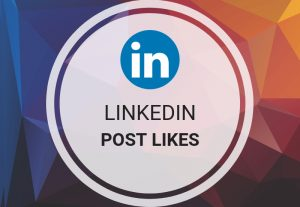 send you 100+ linkedin post likes OR share
