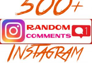 Add 500+ Instagram Random Comments Instantly