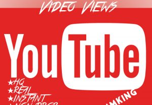 Add 50000-55000 YouTube Views with high quality promotion, real, non dropped and work instantly.