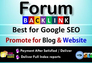 1000+ GSA SER Forum Backlinks for Google SEO, Rank up your website