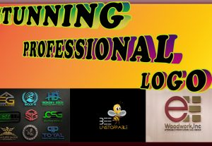 I will design a creative attractive and professional logo
