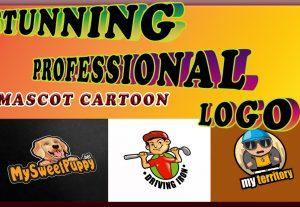 I will design creative mascot, character or cartoon logo