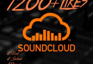 Instant 1200+ SoundCloud Likes HQ,Real,Non Drop & 100% Organic  !!