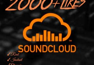 Instant 2000+ SoundCloud Likes HQ,Real,Organic & Non Drop !!
