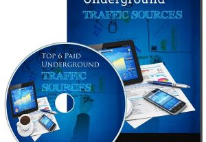 Give Top 6 Paid Underground Traffic Sources PLR Videos