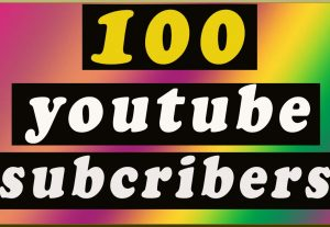 GET 100 REAL YOUTUBE SUBSCRIBERS FOR YOUR CHANNEL