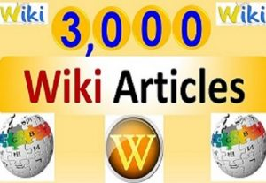 Unlimited contextual Wiki Backlinks from 3,000 Wiki Articles,  Google SEO to increase your ranking in search results.