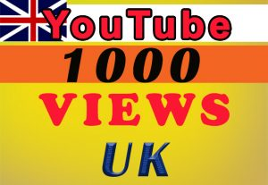 UK Targeted YouTube video views for $8