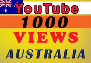 Australia Targeted YouTube video views for $8