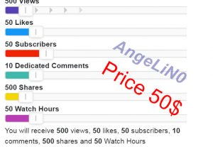™Real YouTube Promotion Package All In One Service Instant Start for 50$