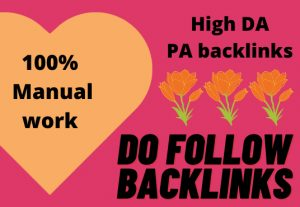 I will create manual high PA DA web 2.0 backlinks