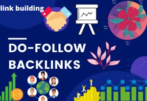 I will create pure do follow backlinks