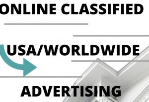 I can post online classified advertising