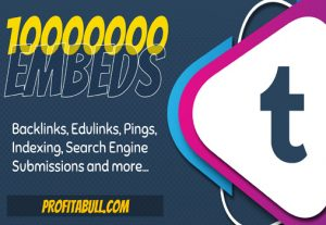10 Million Tumblr Post Embeds for Rank