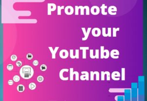 I will promote your youtube video promote the link