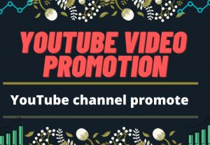 I will do video marketing to promote