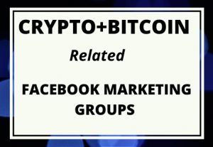I can share cypto related facebook groups post