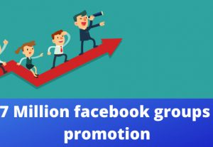 I can share reach in 7 million facebook audience