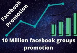 I will provide 10 million active facebook groups member