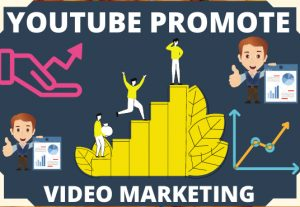 I can social media promote in your youtube channel