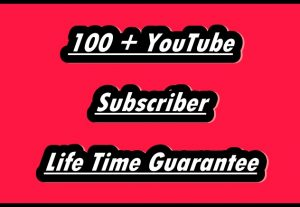 I Will Provide You 100 + YouTube Subscribers Best For Monetization Approval