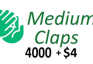 Give 4000+ Medium Claps on your Medium Article medium
