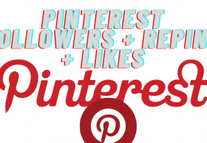 Pinterest Followers saves repins likes super High-quality guaranteed for life