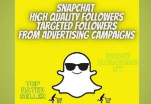 "Snapchat HQ real targeted followers ""friends "" non drop 100% reals"