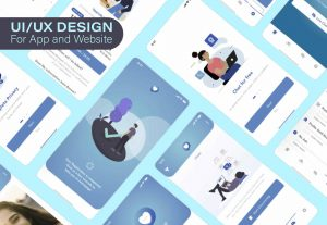 I will design professional web or mobile app UI UX in adobe xd