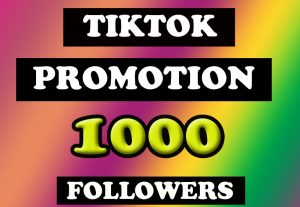 TikTok 1000 High Quality Fast followers