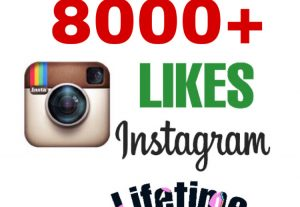 I will add 8000+ Likes on Instagram Post . Fast Delivery & Non Drop!