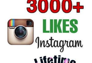 I will add 3000+ Likes on Instagram post . Instant & Lifetime Guaranteed.