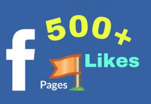 I will add 500+ Facebook Fan Page Likes . HQ
